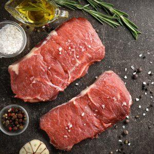 Bifteck contre-filet de boeuf