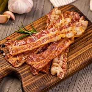 Bacon précuit de porc