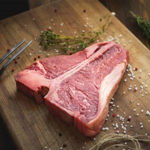Bifteck d'aloyau (T-bones) de veau