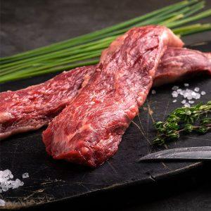 Bifteck de flanc de boeuf
