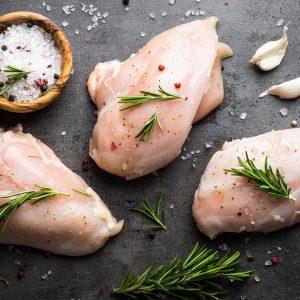 Haut de cuisse désossé de poulet