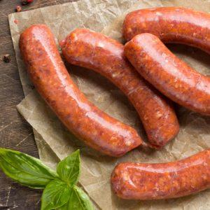 Saucisses Italiennes douces (grosses) de porc