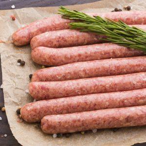 Saucisses déjeuner (petites) de porc