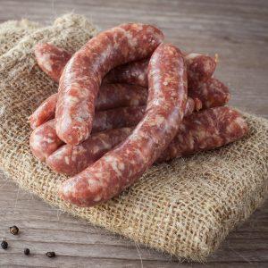 Saucisses bacon et érable (petites) de porc