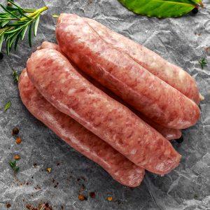 Saucisses bacon, Emmental suisse (grosses) de porc