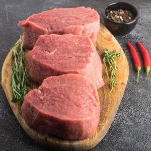 Bifteck filet mignon de veau