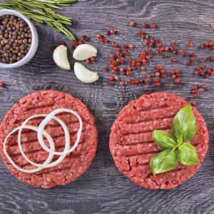 Palette burger de veau