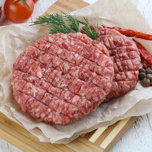 Palette burger de porc