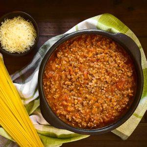 Sauce à spaghetti congelée 900g
