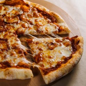 Pizza pepperoni / fromage / bacon 13″