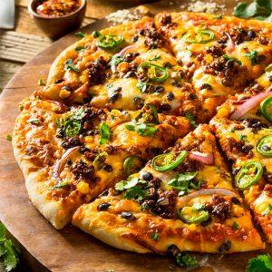 Pizza spécial Tendres Bouchées 13″