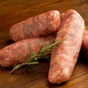 Saucisses bacon et érable (grosses) de dinde
