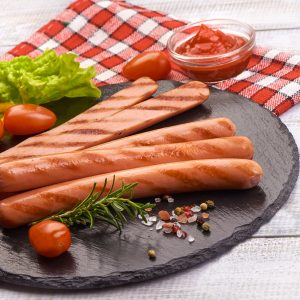 Saucisses Hot-dog maison (petites) de porc